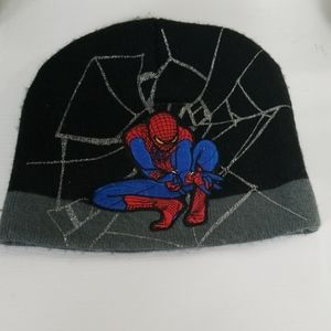 Spiderman Knit Hat Size OS